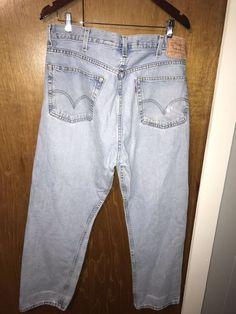 540eda1a Levi Mens Denim Jeans 505 Size 38 30 #fashion #clothing #shoes #accessories
