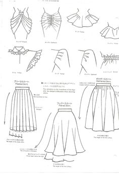 Detailed technical sketches #fashionflats #fashiontemplates #fashionsketches #technicalsketch