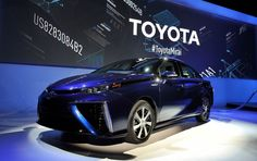 Toyota opens its patents hydrogen car