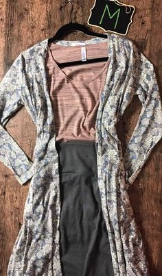 LULAROE OUTFITS EVERYWHERE! Get your Spring and Summer wardrobes ready for all of these fabulous LulaRoe outfits we have to add to your closets! We are professionals at layering and pattern-mixing, and we'll even put a capsule together just for you! Join us on Facebook for access to shop! We have the Amelia and Carly dresses, the Sarah cardigan, Joy vest, Cassie pencil skirt, and more! Sarah · Carly · Leggings · Maria · Amelia · Shirley · Irma · Gigi · Lynnae · Cassie · Joy · Dresses ·…