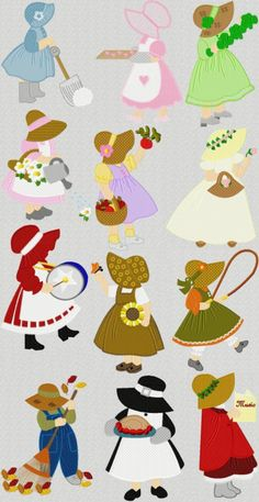 Free Sunbonnet Sue 2 Designs