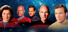 """Heroes & Icons network will air  all five original """"Star Trek""""  series together."""