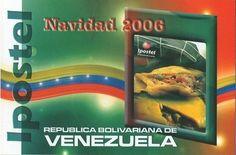 Postal: Hallaca (Venezuela) (Ipostel - Christmas 2006) Col:ve_ipostel_NAV2006_05
