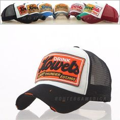 New Men Women Distressed Vintage Hat Base Ball Cap Trucker Mesh Hat Kowels #Trucker