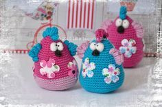 crochet pattern chicken
