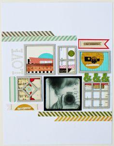 Melissa Mann layout for Elle Studio