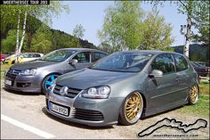 VW Golf mk5 R32 on BBS Wheels at the Woerthersee Tour GTI-… | Flickr