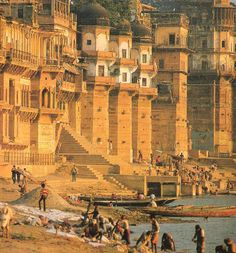 Varanasi, India — one of the oldest still-inhabited cites on Earth