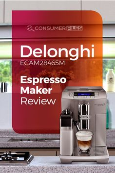 Providing a complete, detailed picture of the #DeLonghi #ECAM28465M #EspressoMaker to help you decide if it's the right automatic #espresso maker for you.  via @consumerfiles