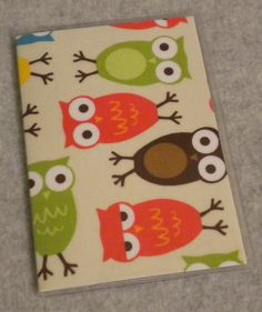 WOODSY OWLS Passport Cover by BostonLinz on Etsy, $5.00