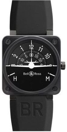 Bell and Ross Turn Coordinator Automatic Black Dial Mens Watch - PVD Coatings Bell Ross, Watch Companies, Watch Brands, Limited Edition Watches, Distinguish Between, Overnight Shipping, Cool Watches, Men's Watches, Casual Watches