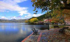 Kastoria, Greece Greece Vacation, Greece Travel, Greece Trip, Beautiful Islands, Beautiful Places, Greek Sea, Macedonia Greece, Greek Beauty, Thessaloniki