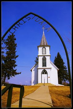 Christdala Swedish Luthern Church, Rice County, Mn. circa 1878 by FlappinMothra, via Flickr
