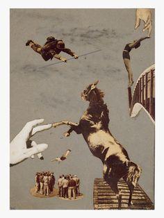 s/t 1937. Fotomontaje. Collage sobre papel estraza 37?3x 26?6 cm. Diputación Foral de Guipúzcoa