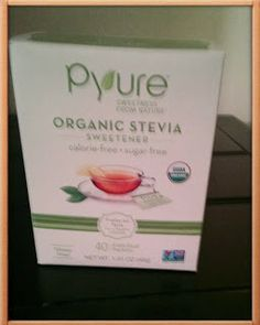 Sampling Pyure Sweetener was a perfect way to share something new with my mother.  She is diabetic and always looking for a good artificial sweetener.  I was glad to receive a sample of Pyure Sweetener, because I was prepared to have her over and offer her some Pyure.