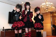 That is some classic Hair Metal Hair that Su-Metal has