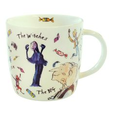 Roald Dahl Fantabulous Mug Coffee Cup Tea Quentin Blake Illustrations Art Willy Wonka