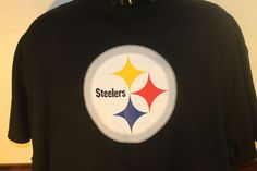 Pittsburgh Steelers NFL Jersey TShirt Logo Troy Polamalu  43  Black Cotton Tee #NFLapparel #PittsburghSteelers