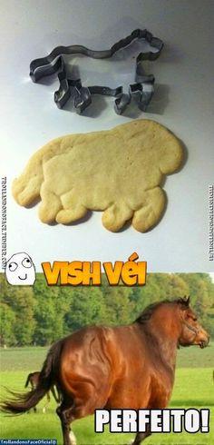 Trollando no Face Oficial: VISH VÉI