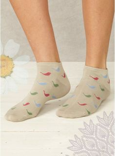 Dove Ankle Socks (Spring '14) braintree eco fashion
