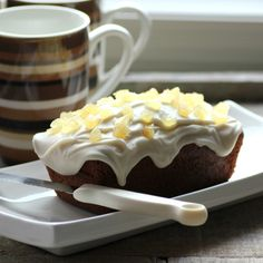 You can now have a Copycat Starbucks Gingerbread Loaf in the comfort of your home and long after it is gone from the store.