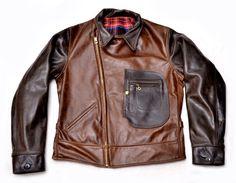 Peregrine Double Rider Jacket (1933) Two Tone American Steerhide