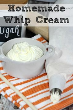 Homemade Whip Cream