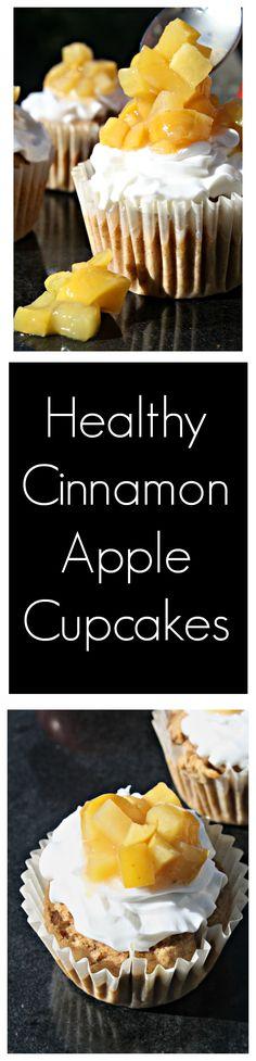 Cinnamon Apple Cupca