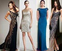 Vestidos Bordados de Festa para inspirar: Modelos de Vestidos longos e curtos, para festa de Formatura, madrinhas de casamento e outras ocasiões.