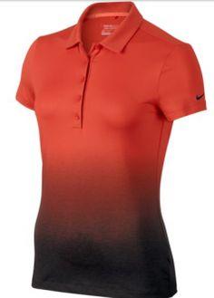 bac0a5f789 El polo de golf Nike Fade 2.0 para mujer cuenta con un tejido suave que  capilariza