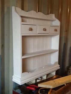 Painted dresser top