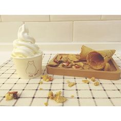 一圈又一圈的乳酪雪糕,猶如華爾兹旋轉的舞步。 #froyo #frozenyogurt #thewaltzfroyo #macau #comingsoon #thewaltzfrozenyogurt