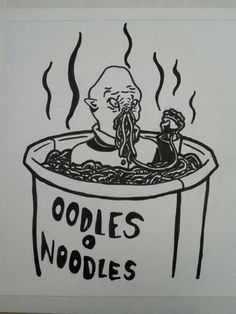 Oodles O Noodles - this just makes my life.