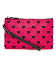 Another great find on #zulily! Hot Pink Heart Leather Mighty Purse by H & Butler - Mighty Purse #zulilyfinds