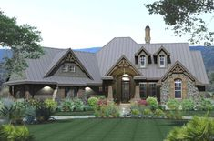 Houseplan 9401-00005 Tuscan House Plans, French Country House Plans, Craftsman Style House Plans, Country Houses, European House, European Plan, European Style, Home Interior, My Dream Home