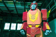 "How to make a Transformers ""Hot Rod/ Rodimus Prime"" Costume #halloween #cartoon #cosplay"
