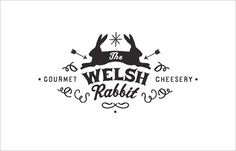 welsh rabbit cheesery logo. candy coated universe.