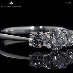 Available in and total carat weight. For more information, please find a retailer near you. Made from ethically sourced Canadian diamonds and platinum. Canadian Diamonds, Diamond Engagement Rings, Sapphire, Rock, Stone, Videos, Collection, Jewelry, Jewlery