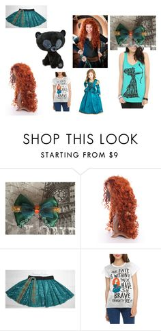 """""""Fangirl - Brave"""" by fangirl-irl on Polyvore featuring Merida, Disney, fangirl and brave"""