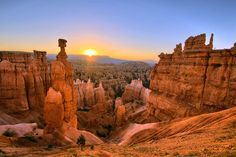 Twice a month, Bryce Canyon National Park holds free full-moon hikes. The skies are some of the clea... - Provided by Reader's Digest (Association) Canada ULC