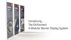 Short film introducing the Konnect - A stylish banner exhibition stand system for marketing, communications and events. Display Banners, Corporate Interiors, Banner Stands, Marketing Communications, Short Film, Events, Stylish