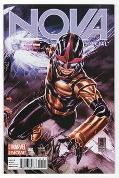 Nova Special # 1 (Variant) by Mark Brooks Marvel Comic Character, Marvel Comic Books, Comic Book Heroes, Marvel Characters, Comic Books Art, Comic Art, Marvel Comics, Marvel Vs, Marvel Heroes