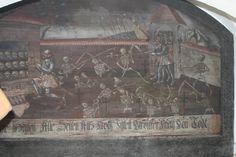 Westerndorf Ossuaire 1691 chapelle du cimetière peinture sur bois