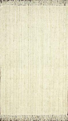 Amazon.com: nuLOOM Hand Woven Mittie Area Rug, Grey, 6' x 9': Kitchen & Dining