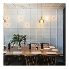Update yes, yes they do. via alexhirsch Hotel Interiors, Conference Room, Restaurant, Table, Hospitality, Furniture, Home Decor, Decoration Home, Room Decor