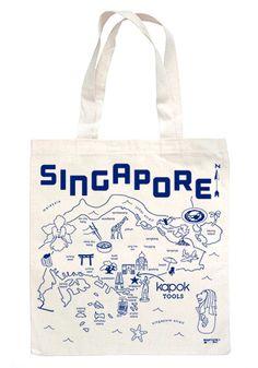 Singapore Maptote for Kapok