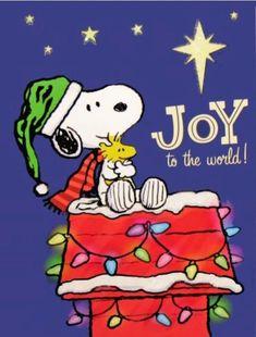 Christmas - Snoopy & Woodstock - Joy To The World❗️