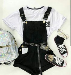 Teenage Girl Outfits, Girls Summer Outfits, Outfits For Teens, Really Cute Outfits, Cute Casual Outfits, Stylish Outfits, Girls Fashion Clothes, Teen Fashion Outfits, Teen Fashion Tumblr