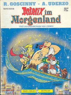 (german) Asterix im Mergenland https://de.wikipedia.org/wiki/Asterix_im_Morgenland