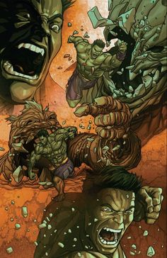 #Hulk #Fan #Art. (Totally Awesome Hulk #5 Cover) By: Mike Choi. (THE * 3 * STÅR * ÅWARD OF: AW YEAH, IT'S MAJOR ÅWESOMENESS!!!™)[THANK Ü 4 PINNING!!!<·><]<©>ÅÅÅ+(OB4E)